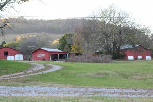 The Hix family farm is located in Flynns Lick in Jackson County. Photo provided