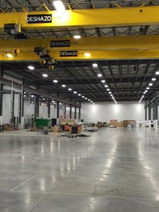 Ficosa's new Cookeville factory measures at 270,000 square feet. Photo/Jay Albrecht