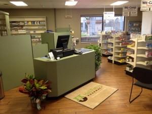 Hall Family Pharmacy.