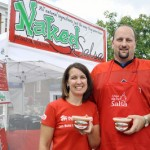 Naked Salsa owners Darrell and Amy Jennings.