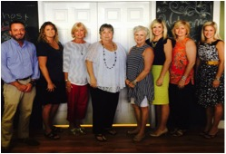 Members of the 2016-2017 Upper Cumberland Child Advocacy Center board of directors include, from left, Matt Phillips, Carolyn Wilson, Debbie Horner, Diane Lynch, Gay Lemmons, Brooke Young, Gayla McBroom and Kelly Swallows. Not pictured is Seth Presley.