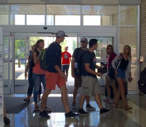 Vol State students this week attended their first week of classes at the Cookeville Higher Education Campus.
