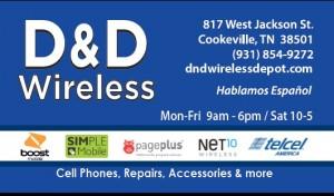 D&D Business Card