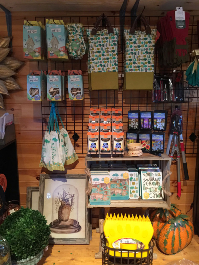 Bloomy's Boutique and Barky's Front Porch sell items like accessories, gardening supplies and more.