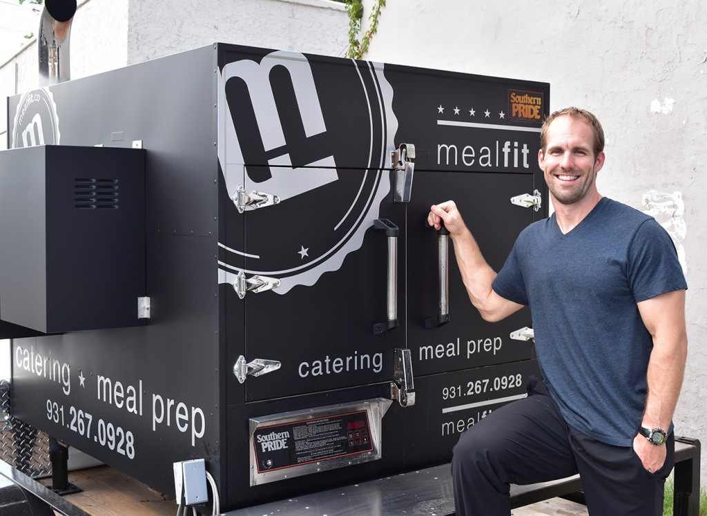 Thomas Cox opened MealFit Salads in the former WestSide Deli space earlier this year.