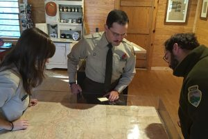 A map apparently used by Sgt. Alvin C. York during WWII will be on display following its restoration.