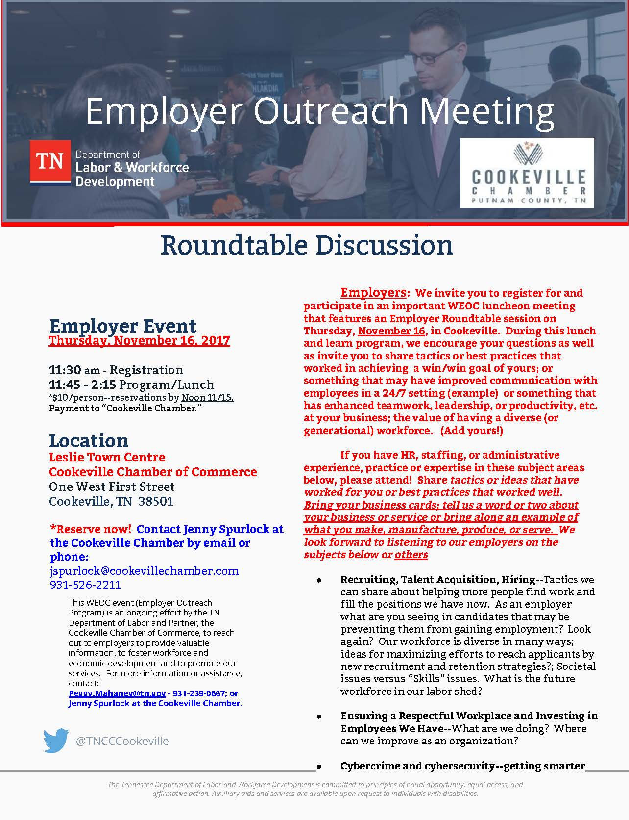 Round table discussion flyer - Round Table Discussion Flyer 22