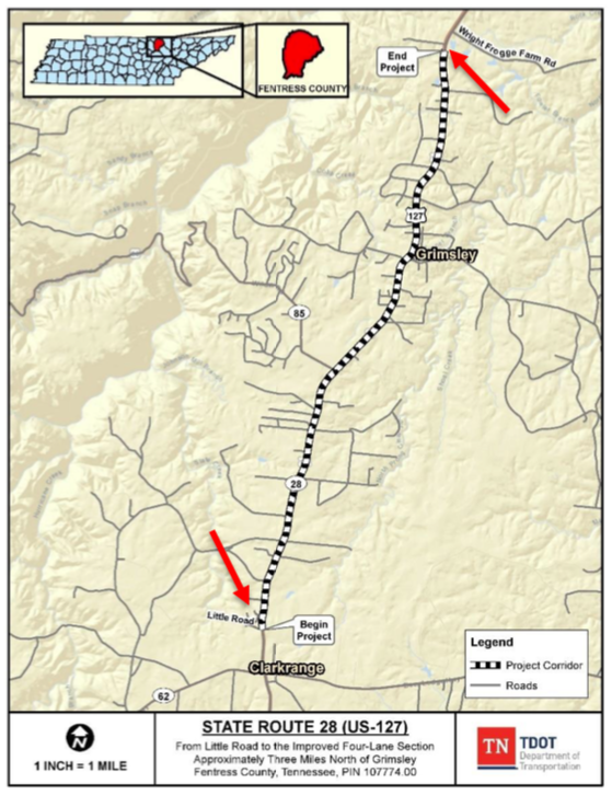 Proposed Hwy 127 Widening Project Scaled Back Ucbj Upper