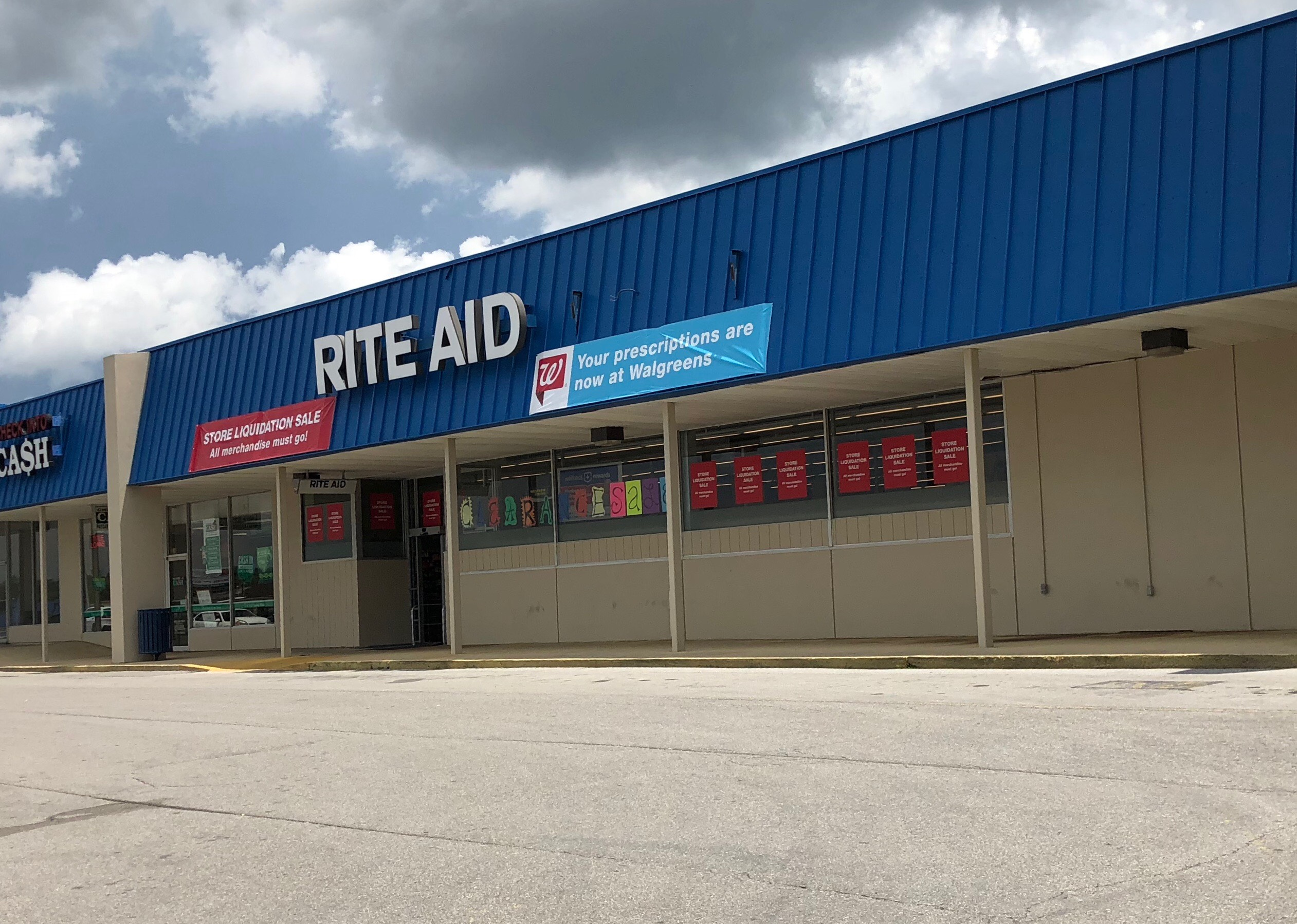 5be7cd5434 The Rite Aid store on S. Willow Avenue is in the middle of a liquidation  sale in an effort to sell any remaining merchandise before the Cookeville  store ...