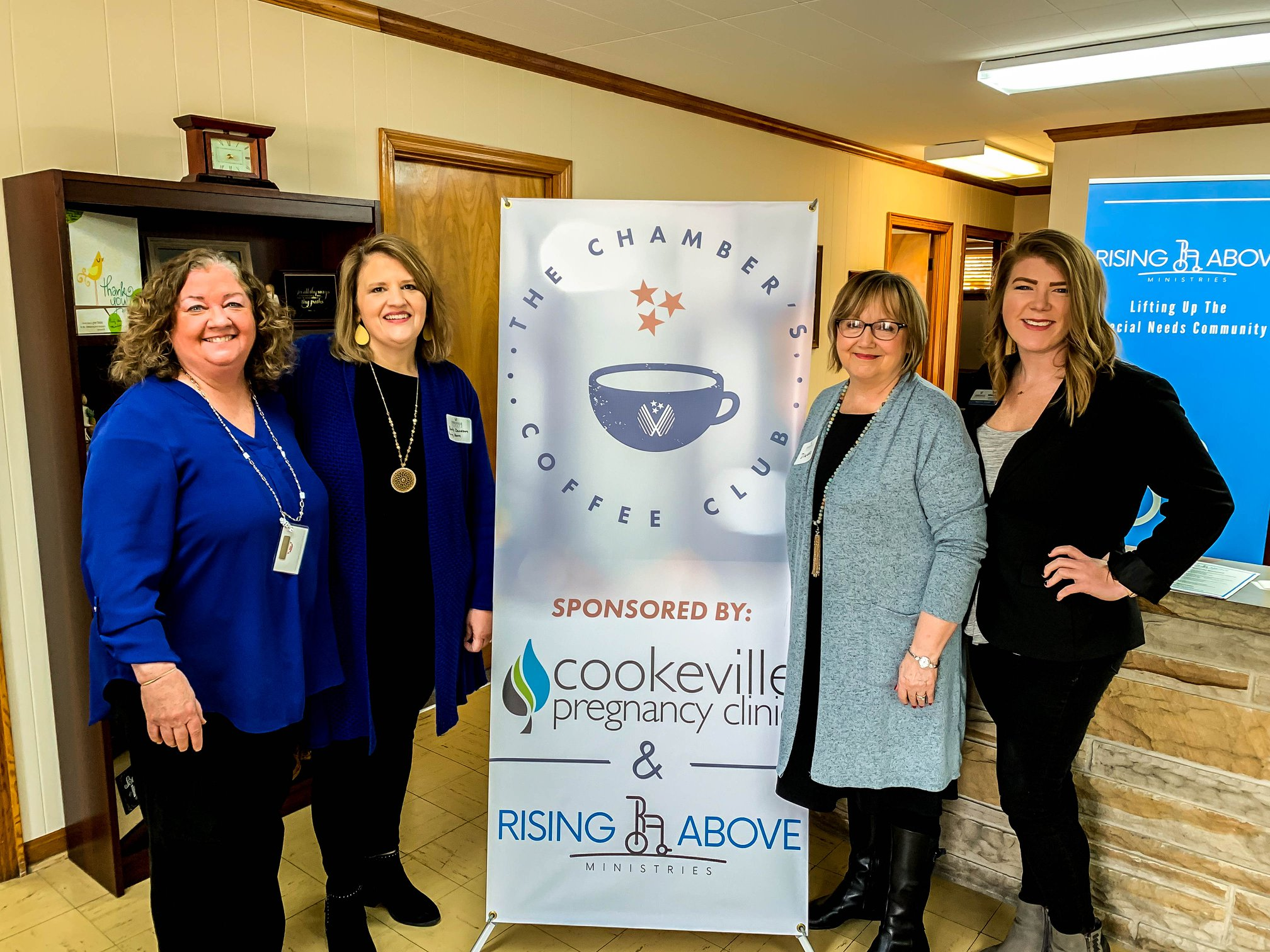 Rising Above Ministries hosts Chamber Coffee Club | UCBJ