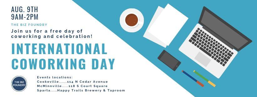 The Biz Foundry celebrates International Coworking Day by