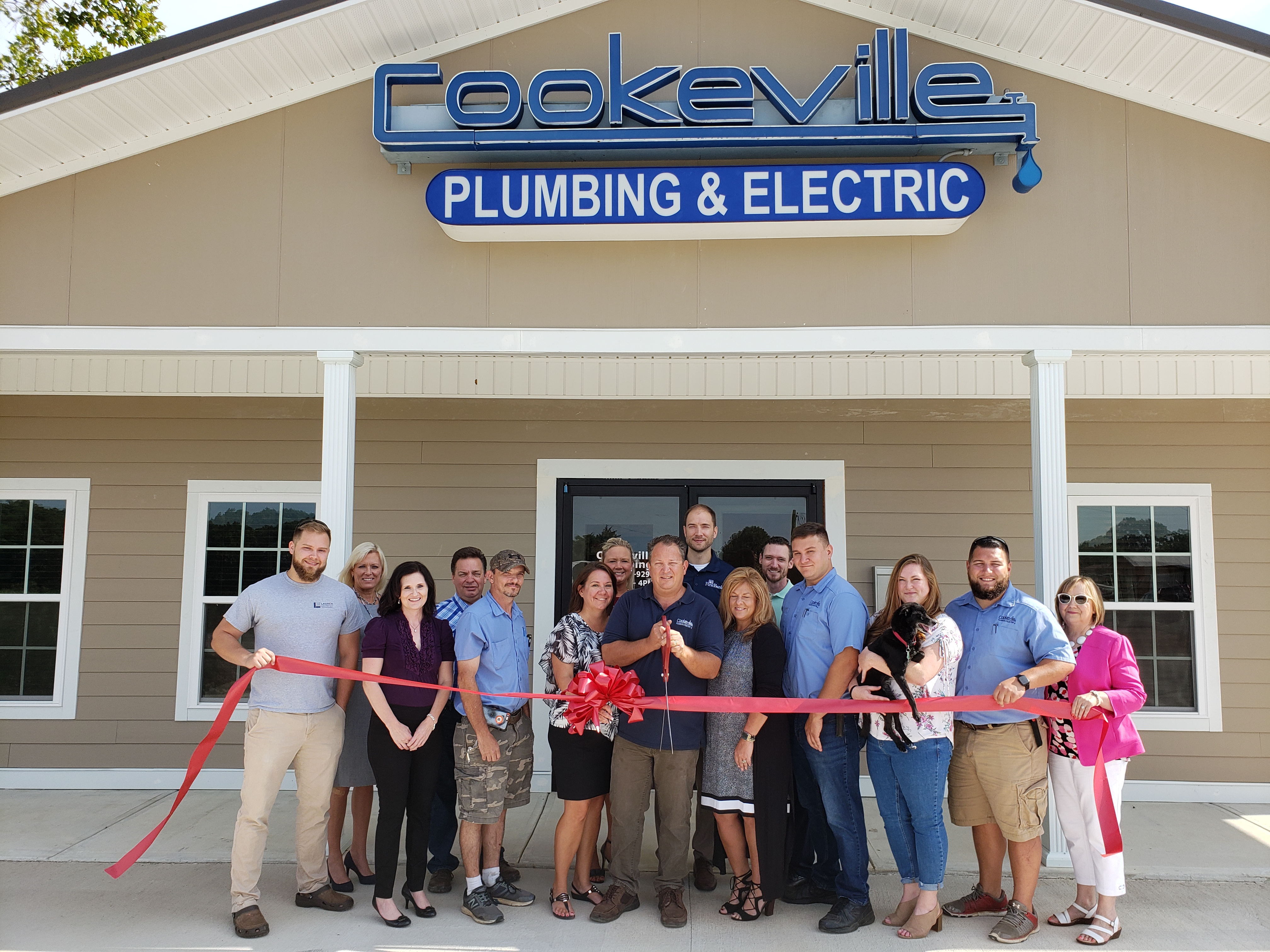 Cookeville Plumbing & Electric celebrates new location