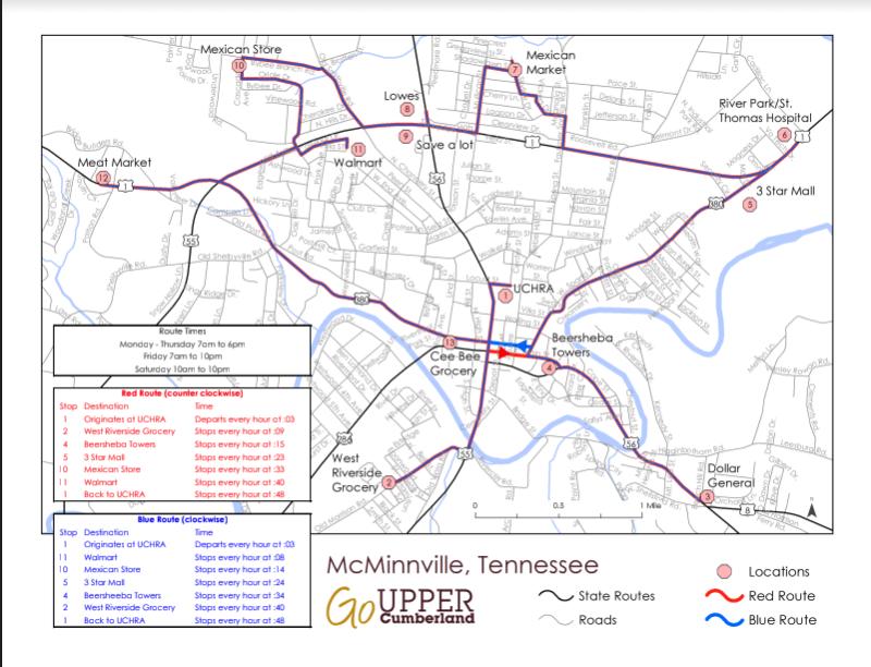 Mcminnville Kicks Off New Public Transportation Services Ucbj Upper Cumberland Business Journal